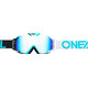 ONeal B-30 Goggles DUPLEX black/white/teal-radium